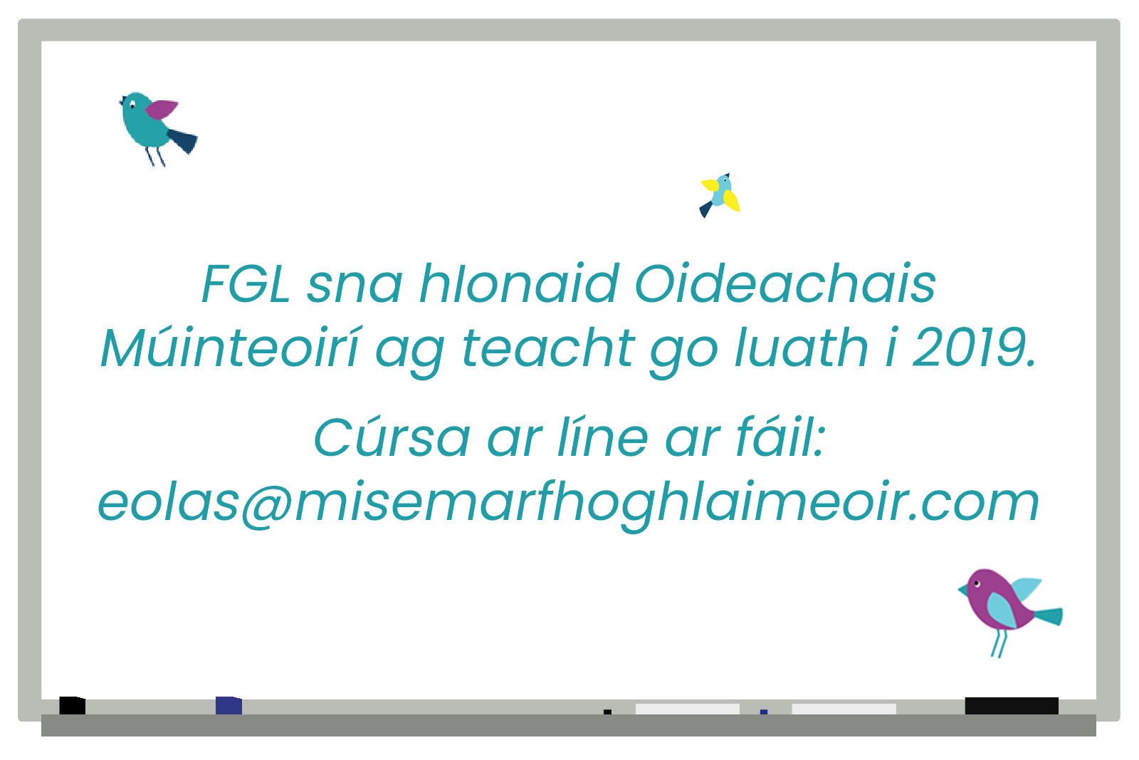 My Learner ID CPD Training as Gaeilge